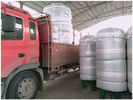 ประเทศจีน Vertical Compressed Oxygen Storage Tank 110 Degree Operating Temperature โรงงาน