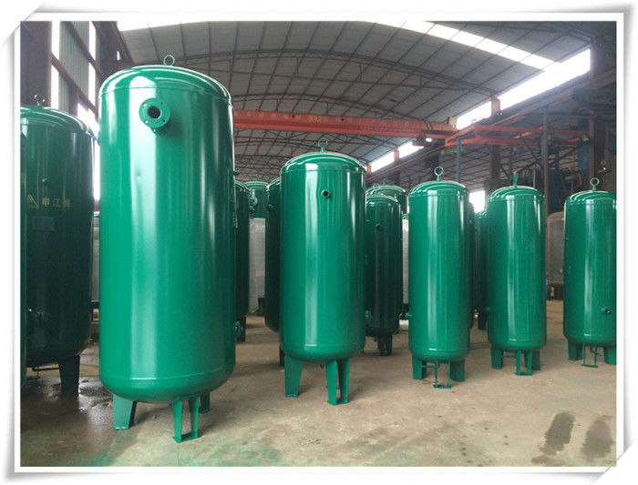 Industrial Screw Type Compressed Air Storage Tank , 200 Gallon Air Compressor Tank
