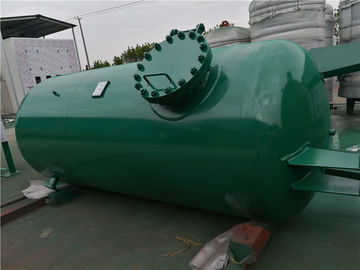 High Pressure Gas Storage Tanks For Emergency Oxygen Horizontal Low Alloy Steel Material